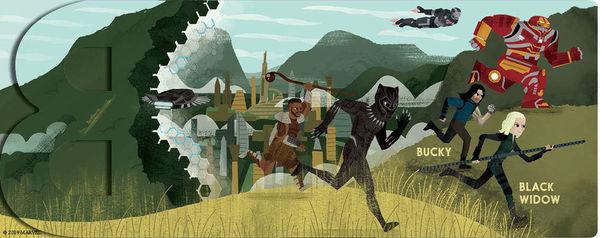 Marvel Alphablock Black Panther Infinity War