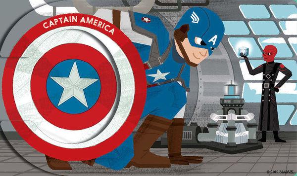 Marvel Alphablock Captain America