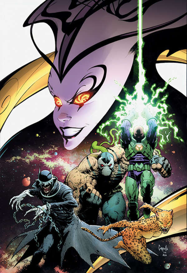 DC Year of the Villain #1 Greg Capullo Cover