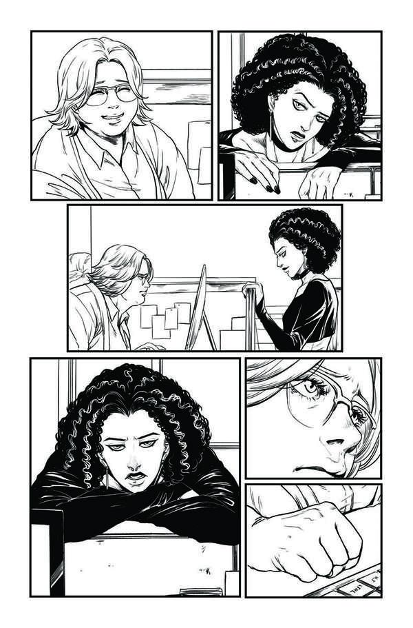 Faith: Dreamside #1 Page 2 BW