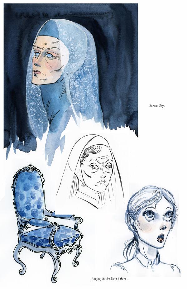 Handmaid's Tale, Concept Art, Serena Joy