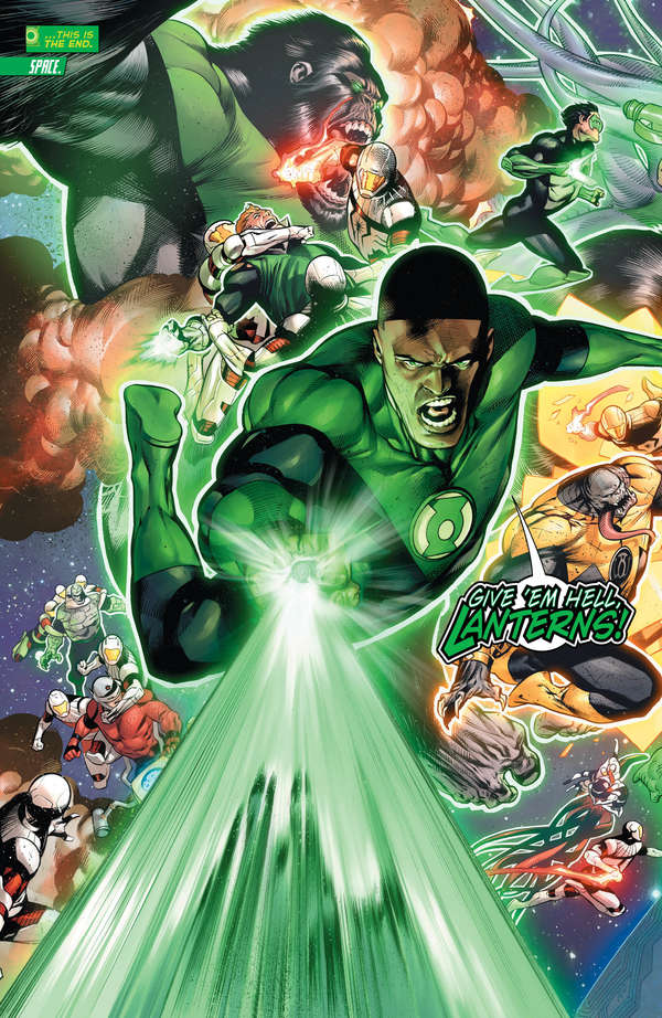 Hal Jordan and the Green Lantern Corps #50 Page 2