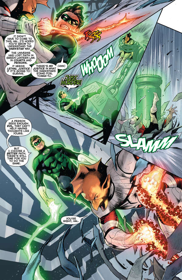 Hal Jordan and the Green Lantern Corps #50 Page 4