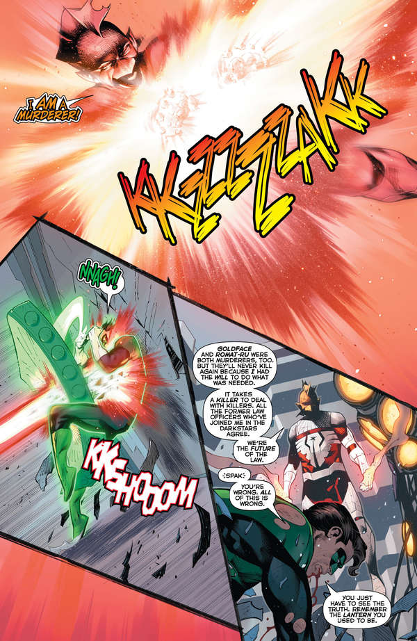 Hal Jordan and the Green Lantern Corps #50 Page 5