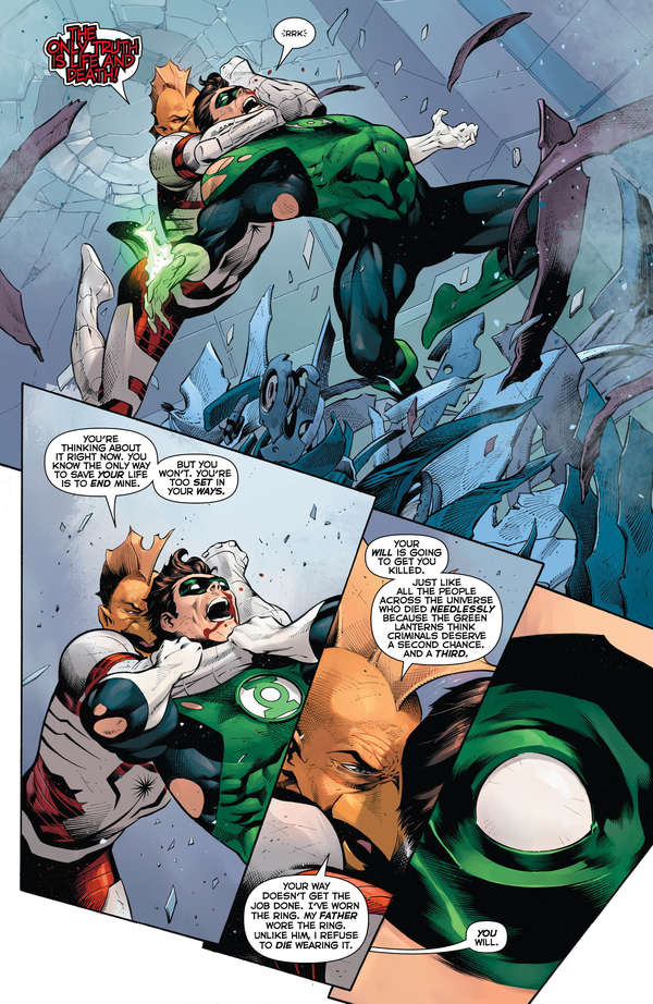 Hal Jordan and the Green Lantern Corps #50 Page 6