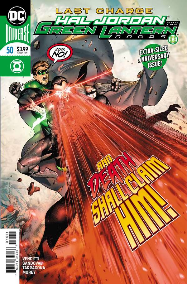 Hal Jordan and the Green Lantern Corps #50 Cover