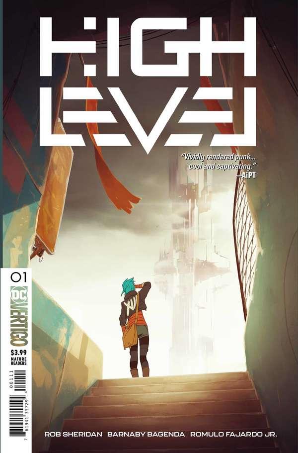 High Level #1 Regular Cover
