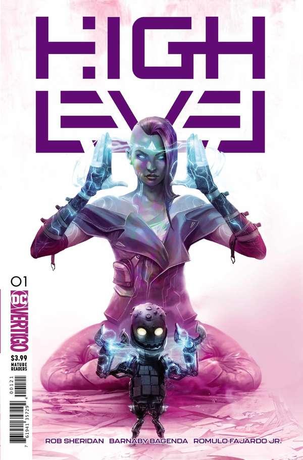 High Level #1 Variant Cover