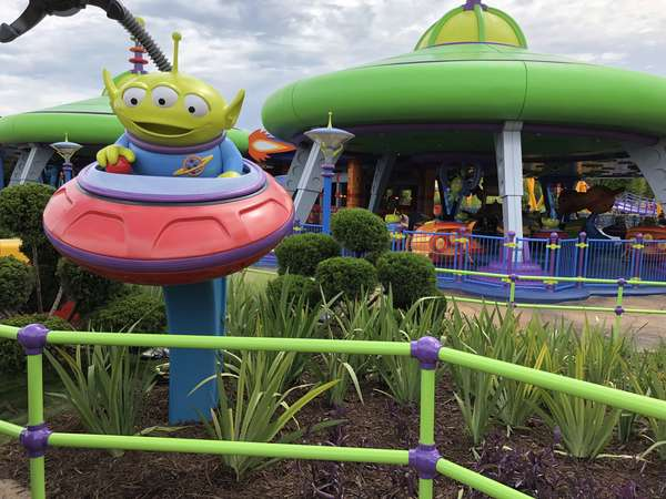 Toy Story Land Alien Saucers