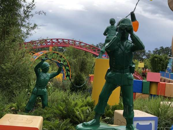 Toy Story Land Soldiers
