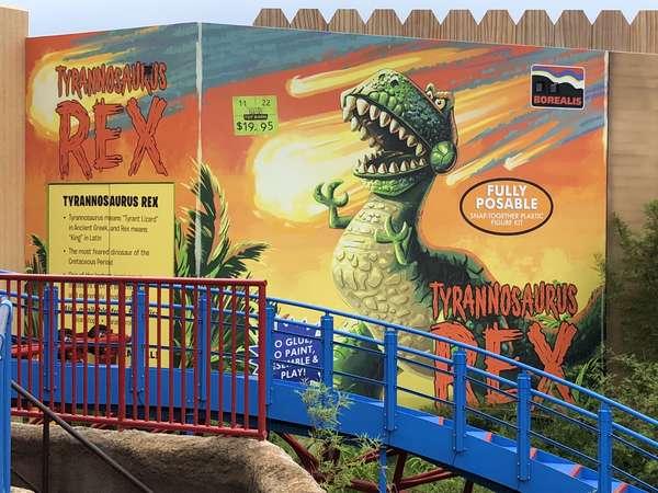 Toy Story Land Rex
