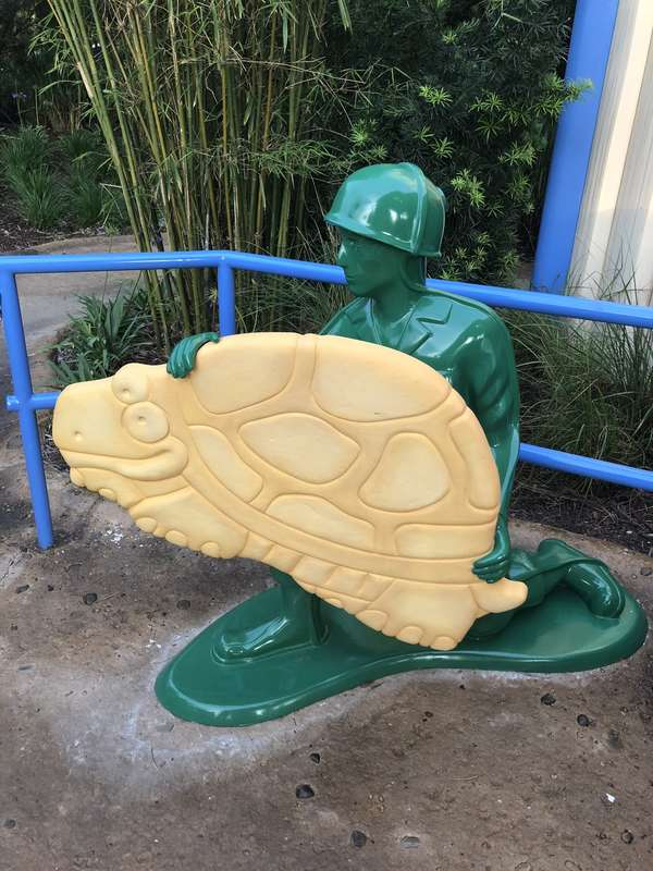 Toy Story Land Soldier cracker
