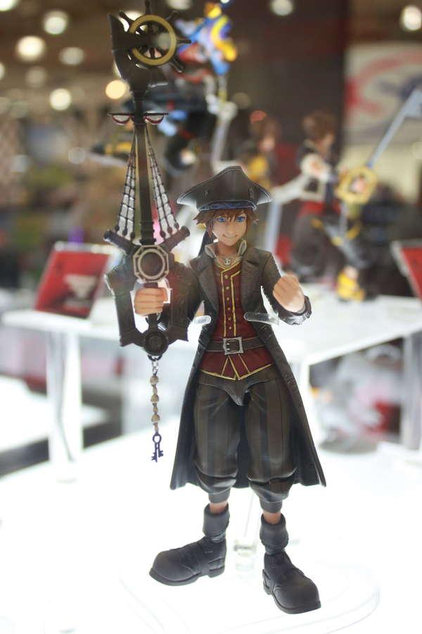 Square Enix Bring Arts Kingdom Hearts III Pirates of the Caribbean Sora