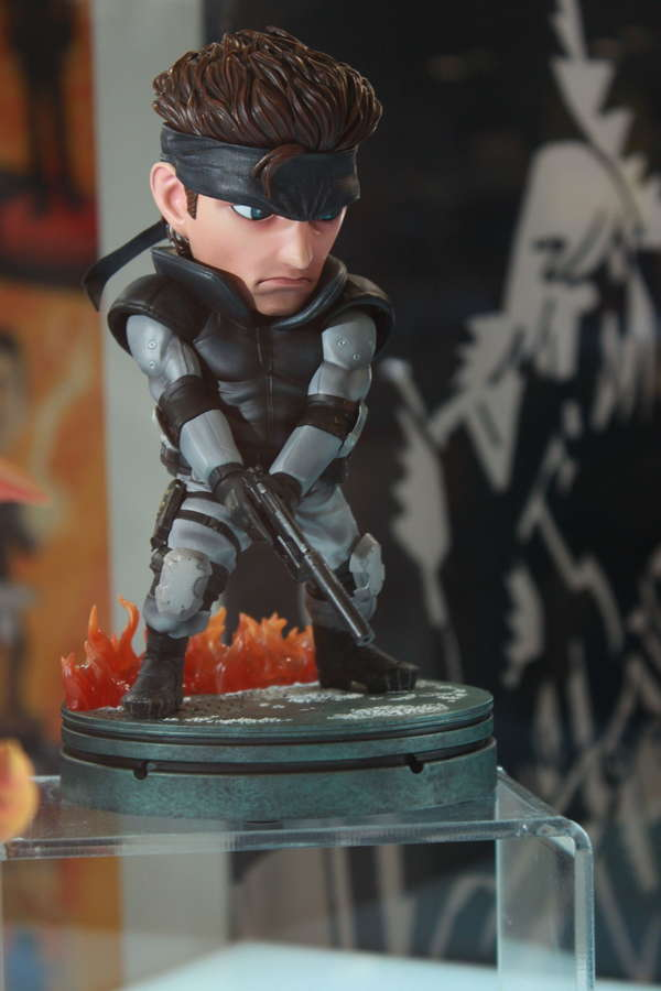 First 4 Figures Solid Snake PVC Figure