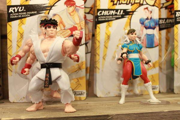 Funko Street Fighter Figures