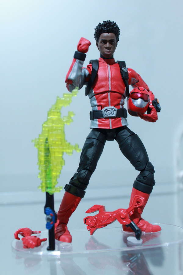 Hasbro Power Rangers Lightning Collection Beast Morphers Red Ranger