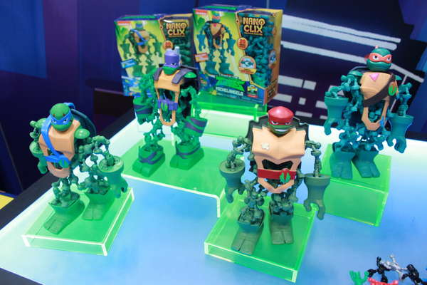 Rise of the Teenage Mutant Ninja Turtles Nano Clix