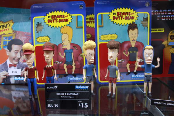 Super7 Beavis and Butthead Figures