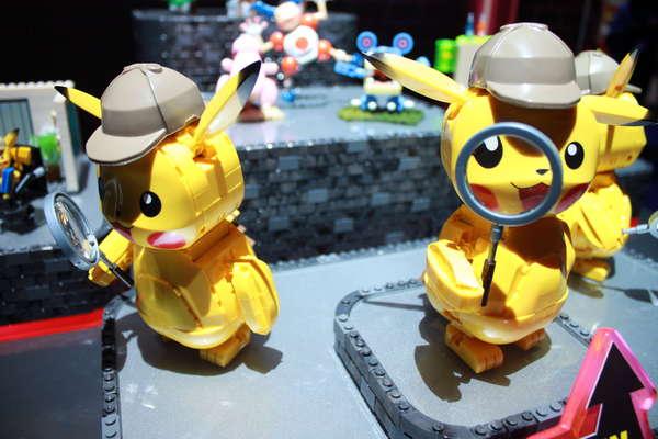Mattel Mega Construx Detective Pikachu