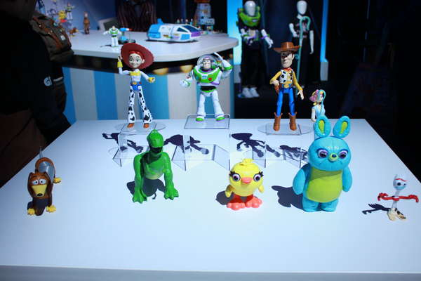 Mattel Toy Story 4 Figure Collection