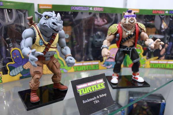 NECA Teenage Mutant Ninja Turltes Rocksteady and Bebop