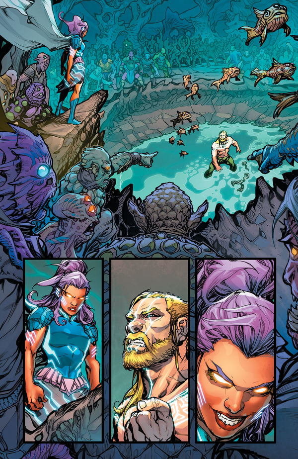 Justice League Aquaman Drowned Earth #1 Page 16