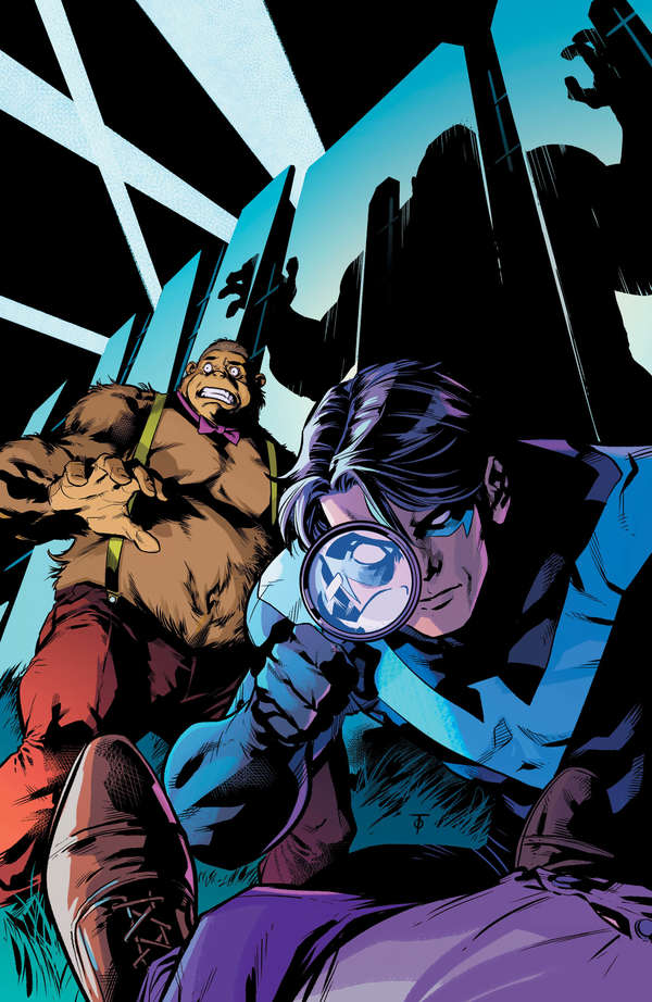 Nightwing / Magilla Gorilla Special #1 Cover Unlettered