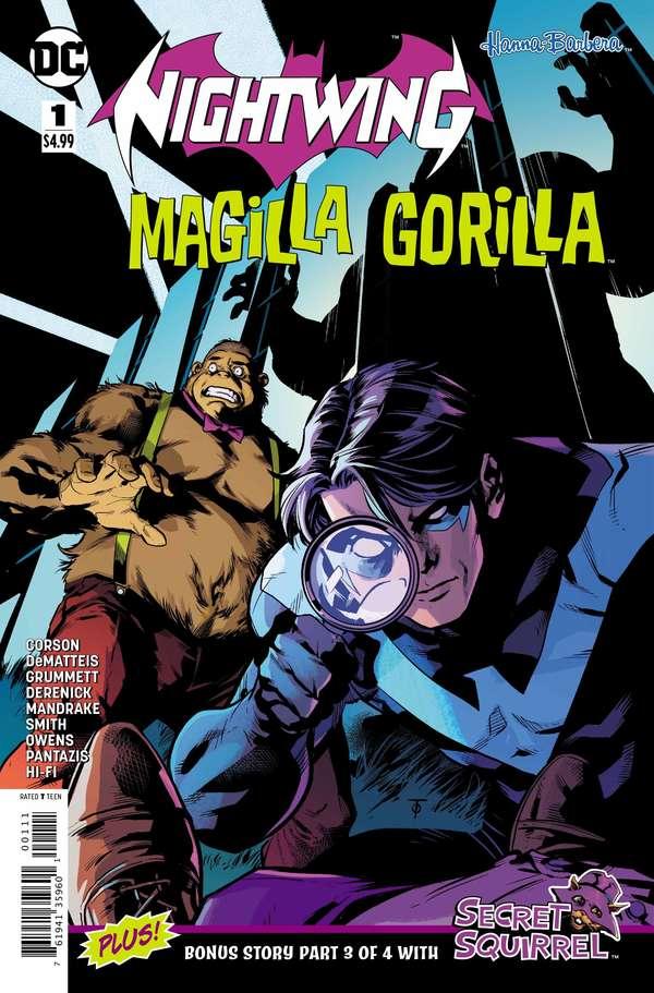 Nightwing / Magilla Gorilla Special #1 Reg Cover