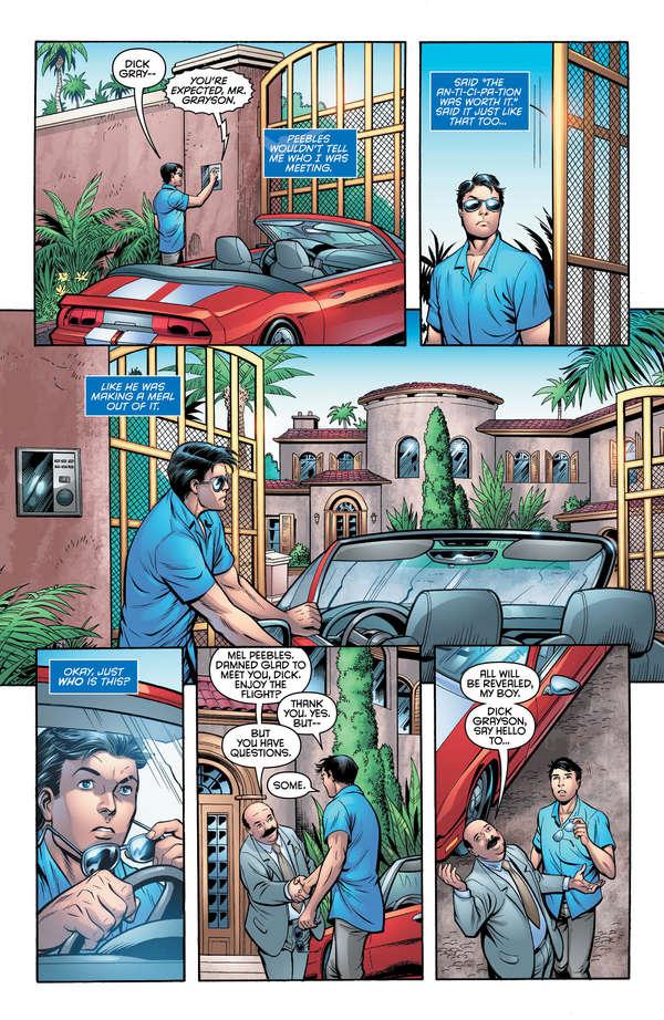Nightwing / Magilla Gorilla Special #1 Page 2