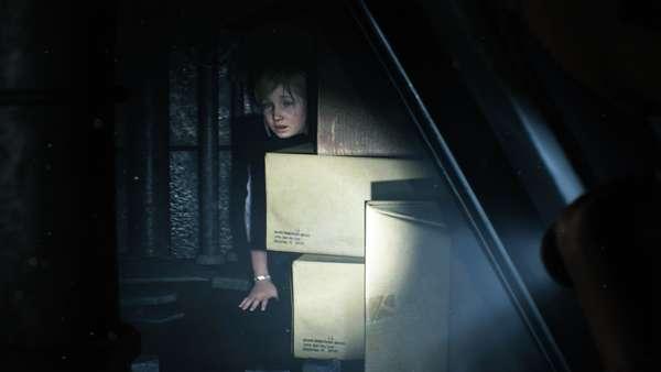 Resident Evil 2 Sherry