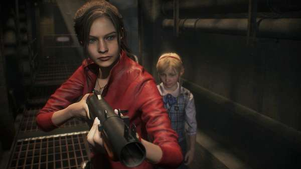 Resident Evil 2 Claire Sherry