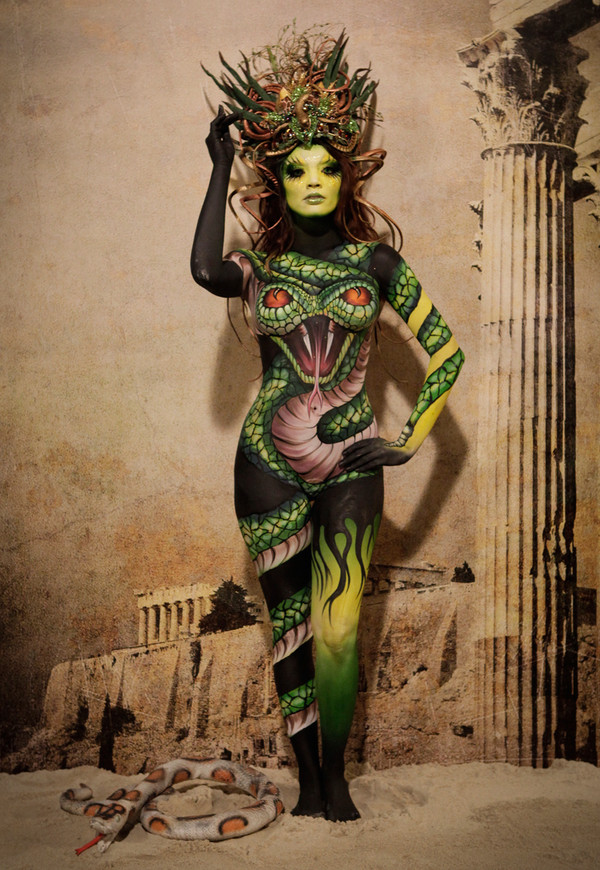 Face Off Body Paint Challenge