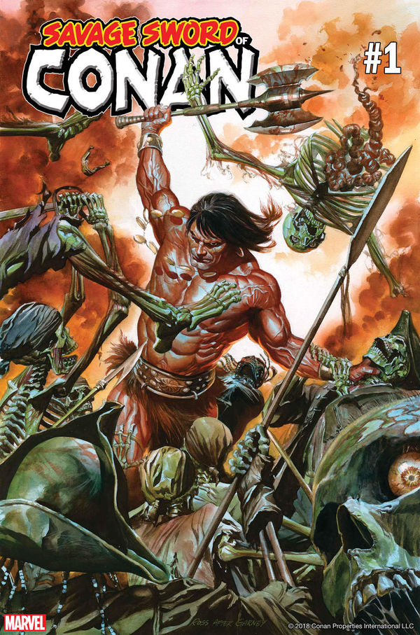 Savage Sword Cover A