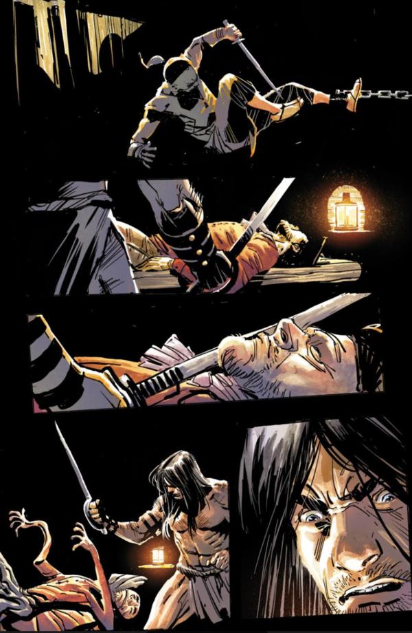 Savage Sword Of Conan Page 1