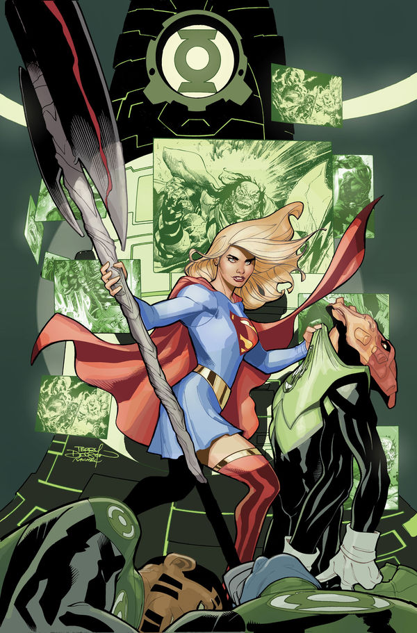 Supergirl 22 cover