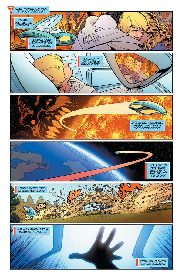 Supergirl #21 Page 1