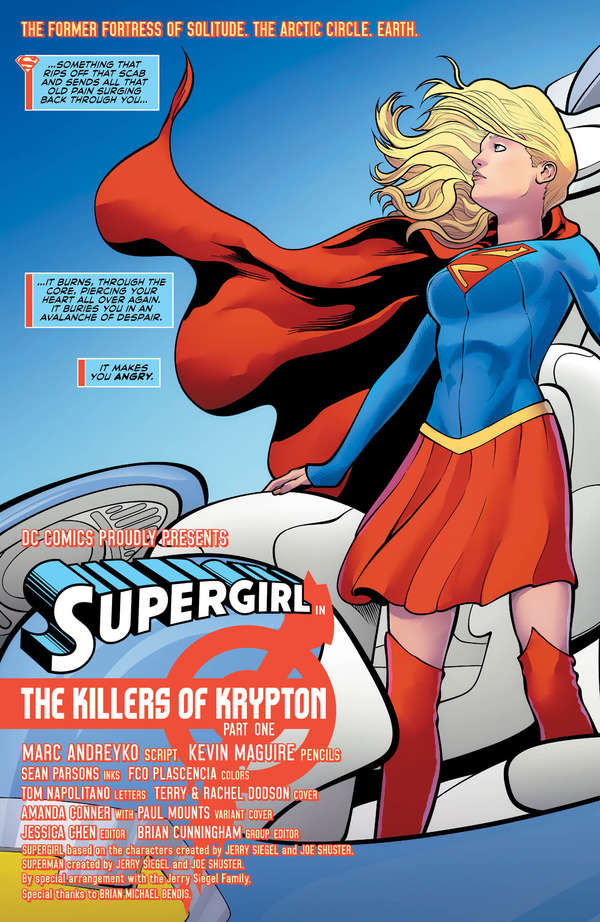 Supergirl #21 Page 2