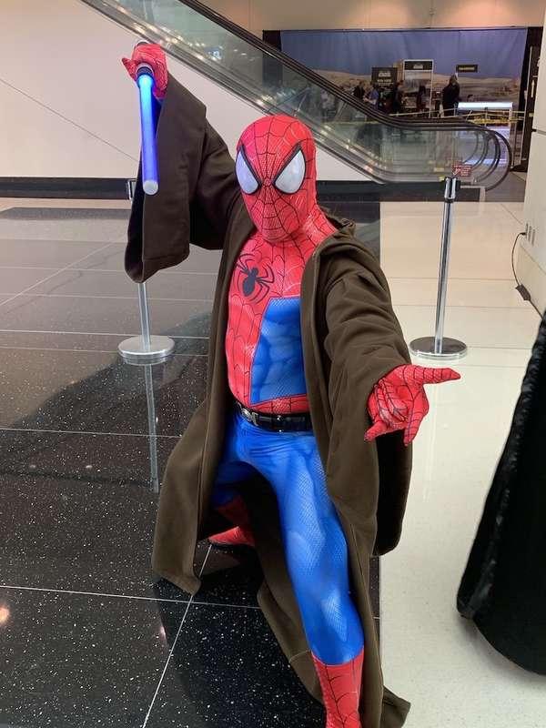 Spider-Jedi
