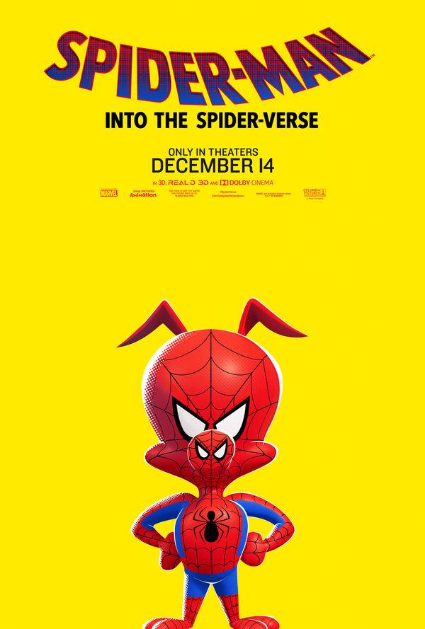 Spider-Man: Into the Spider-Verse Spider-Ham poster