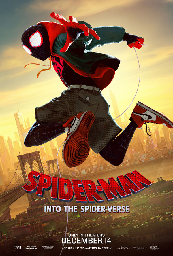 Spider-Man: Into the Spider-Verse Miles Morales poster