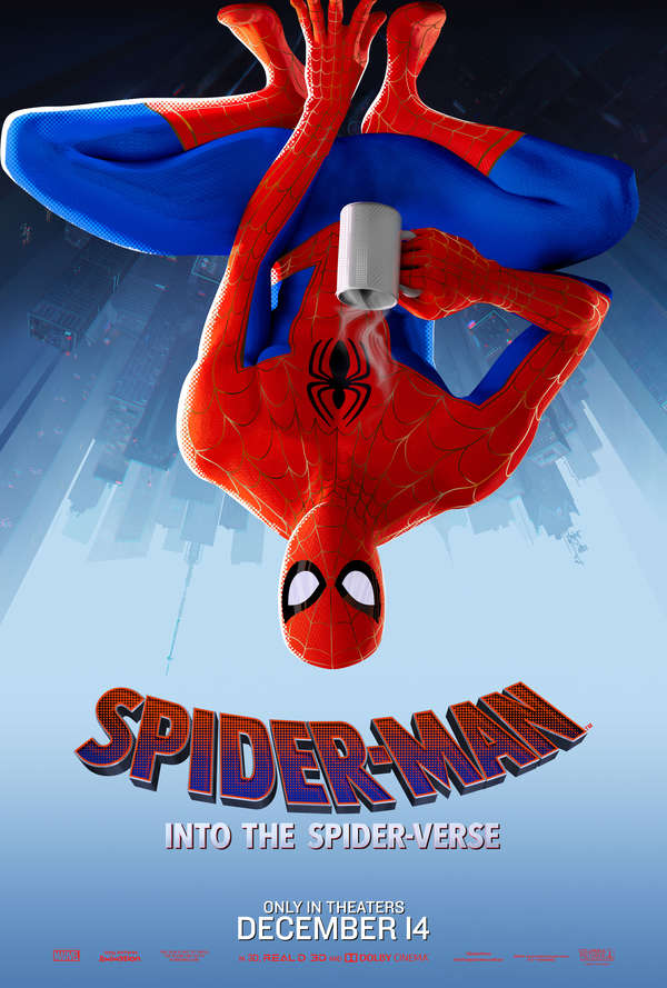 Spider-Man: Into the Spider-Verse Peter Parker poster