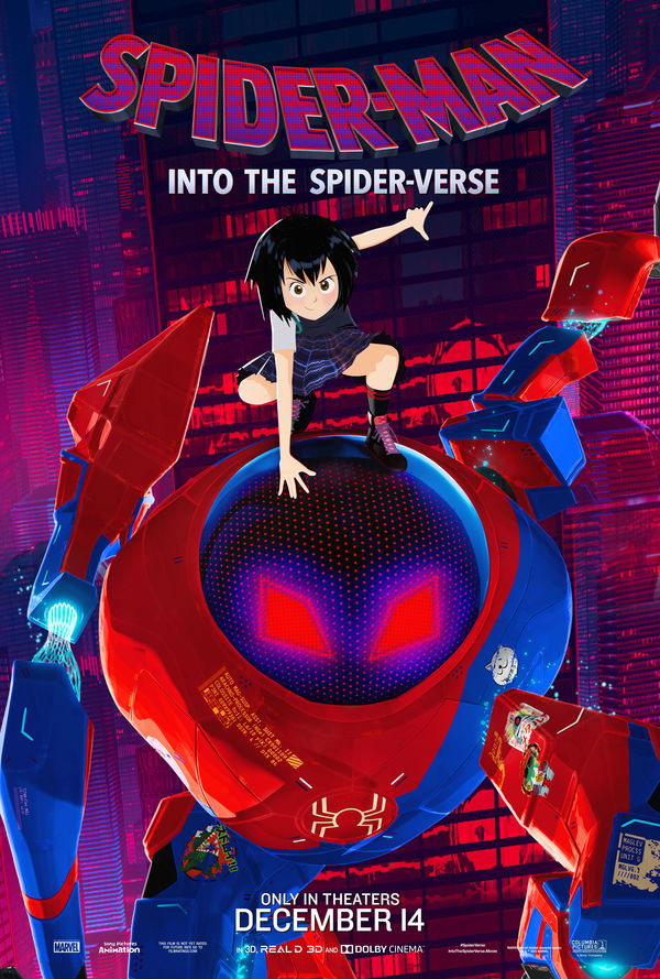 Spider-Man: Into the Spider-Verse Peni Parker poster