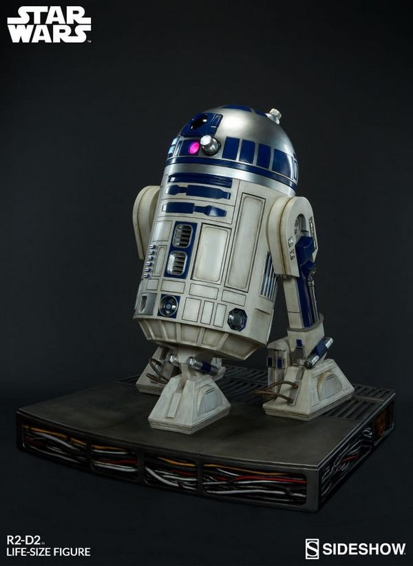 Sideshow rolls out their new life-size, $7,450 Star Wars R2