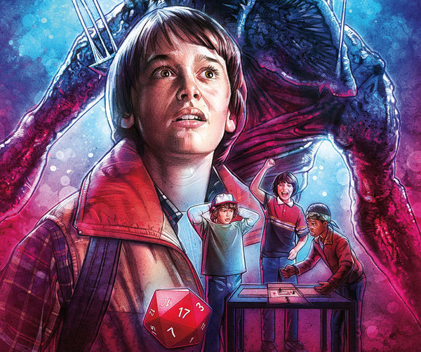 Cover to Stranger Things #1