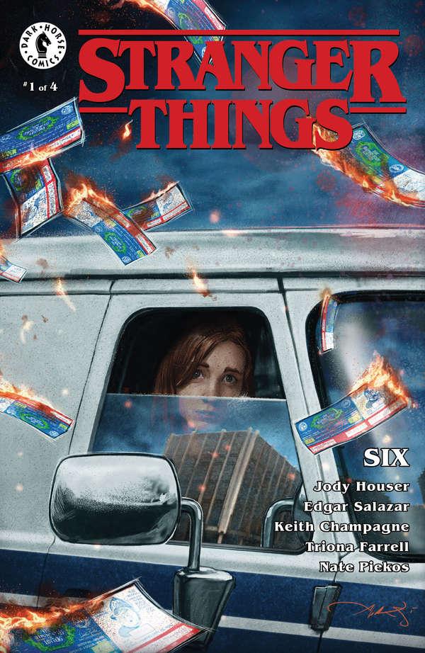 Stranger Things: Six cover