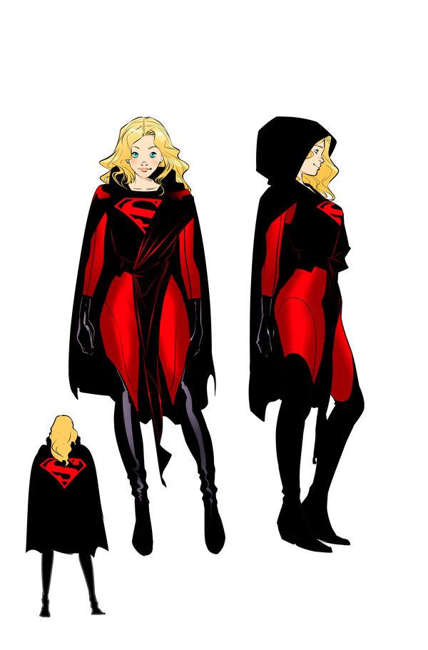 supergirl costume C