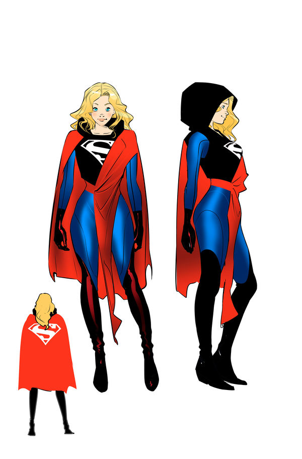 supergirl costume D