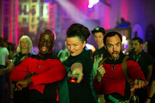 Nobody Parties Like Starfleet!