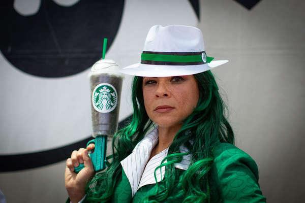 Starbucks' Avenger
