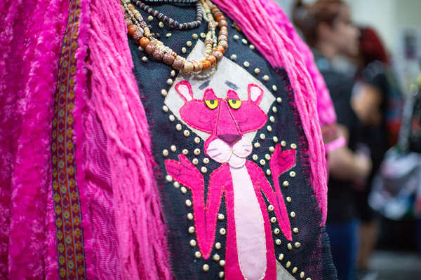 The Pink Panther is also revered in Wakanda